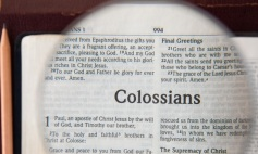 Colossians: Rethinking Life