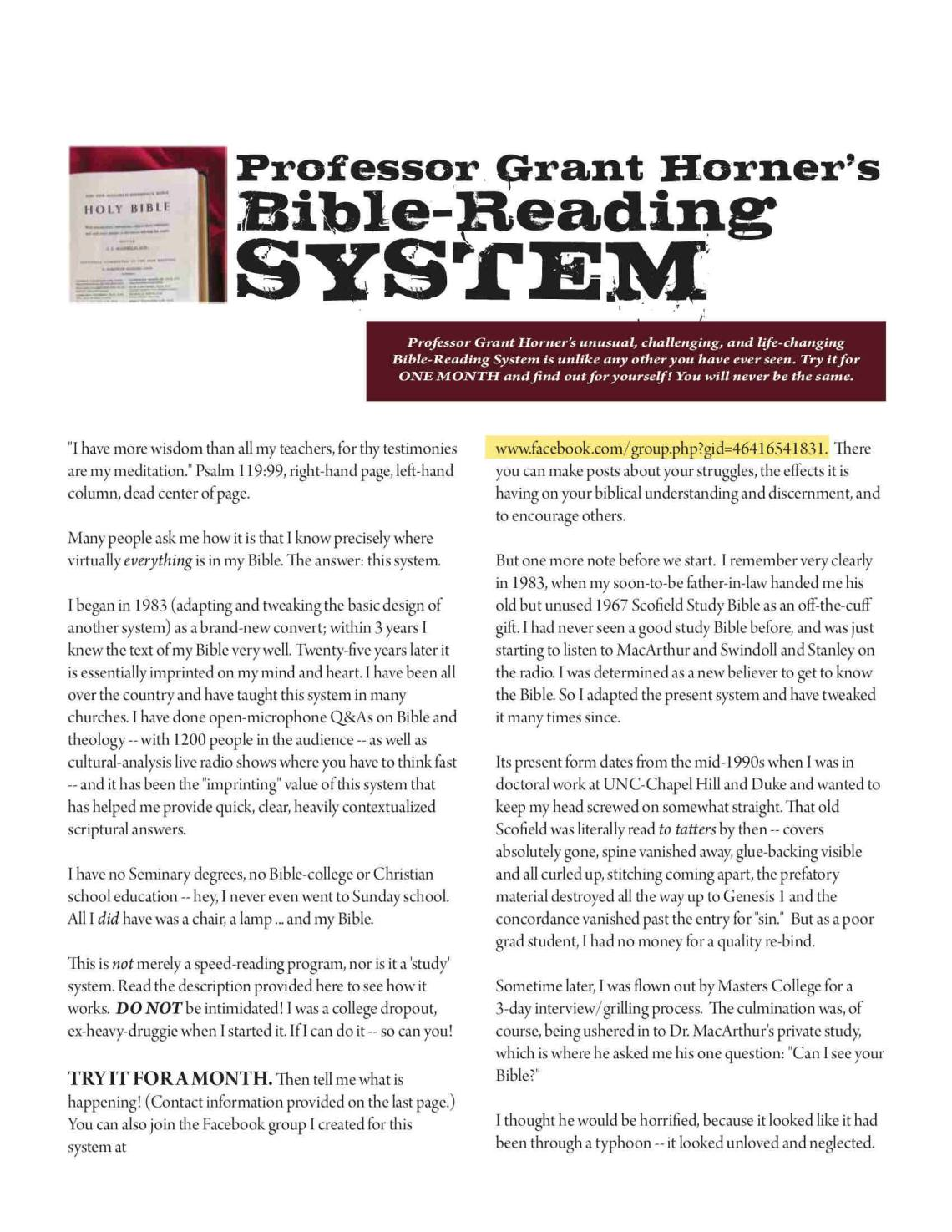 professor-grant-horners-bible-reading-system